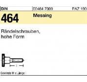 R/ändelschraube hohe Form DIN 464 Messing blank M 3 x 8-50 St/ück