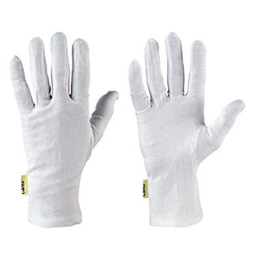 5 Finger Handschuh Baumwoll Trikot Handschuhe Gr.10