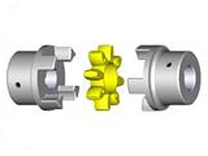 Rotex-Kupplung, Gr.48 Nabe ungebohrt Teil 1 Werkstoff, Grauguss GG25