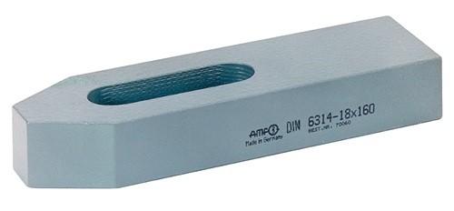 AMF Einfache Spanneisen 14x125 mm DIN 6314